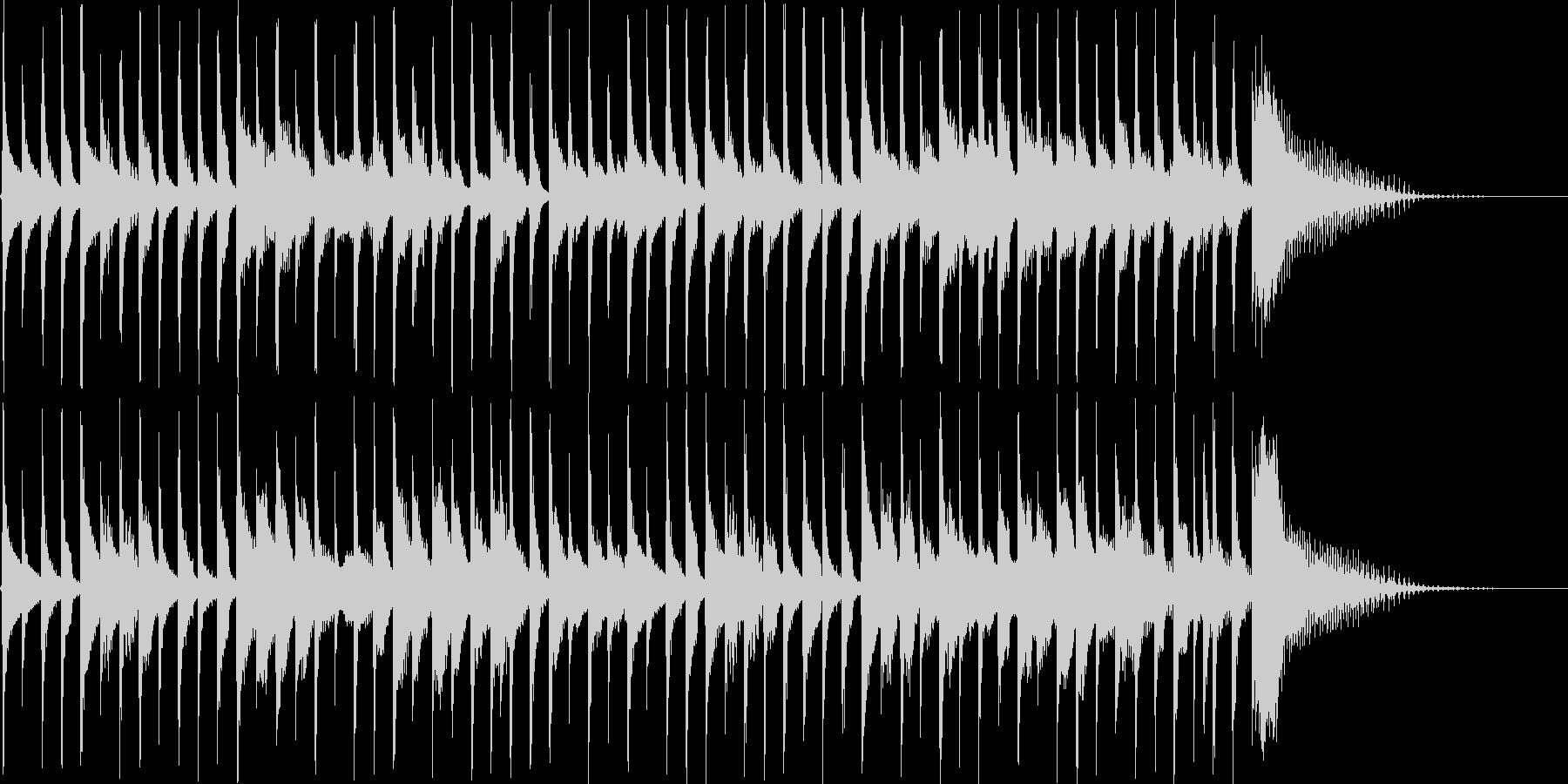 CMにぜひ!コミカルなボサノバ風の未再生の波形