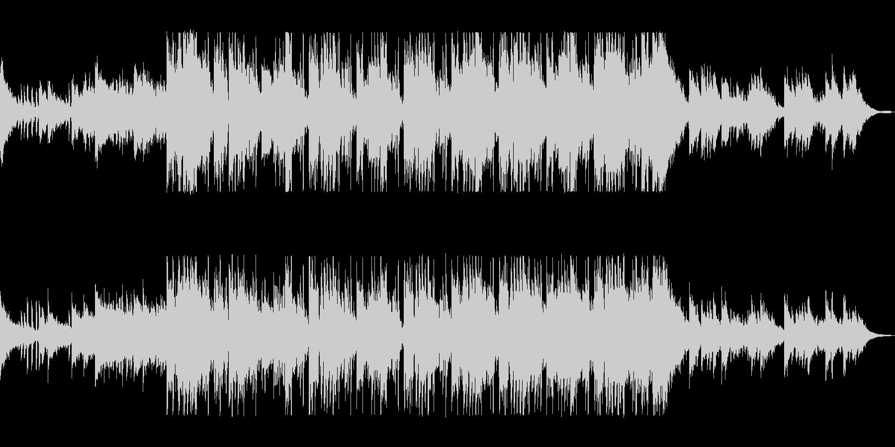 ピアノがおしゃれなカフェサウンドの未再生の波形