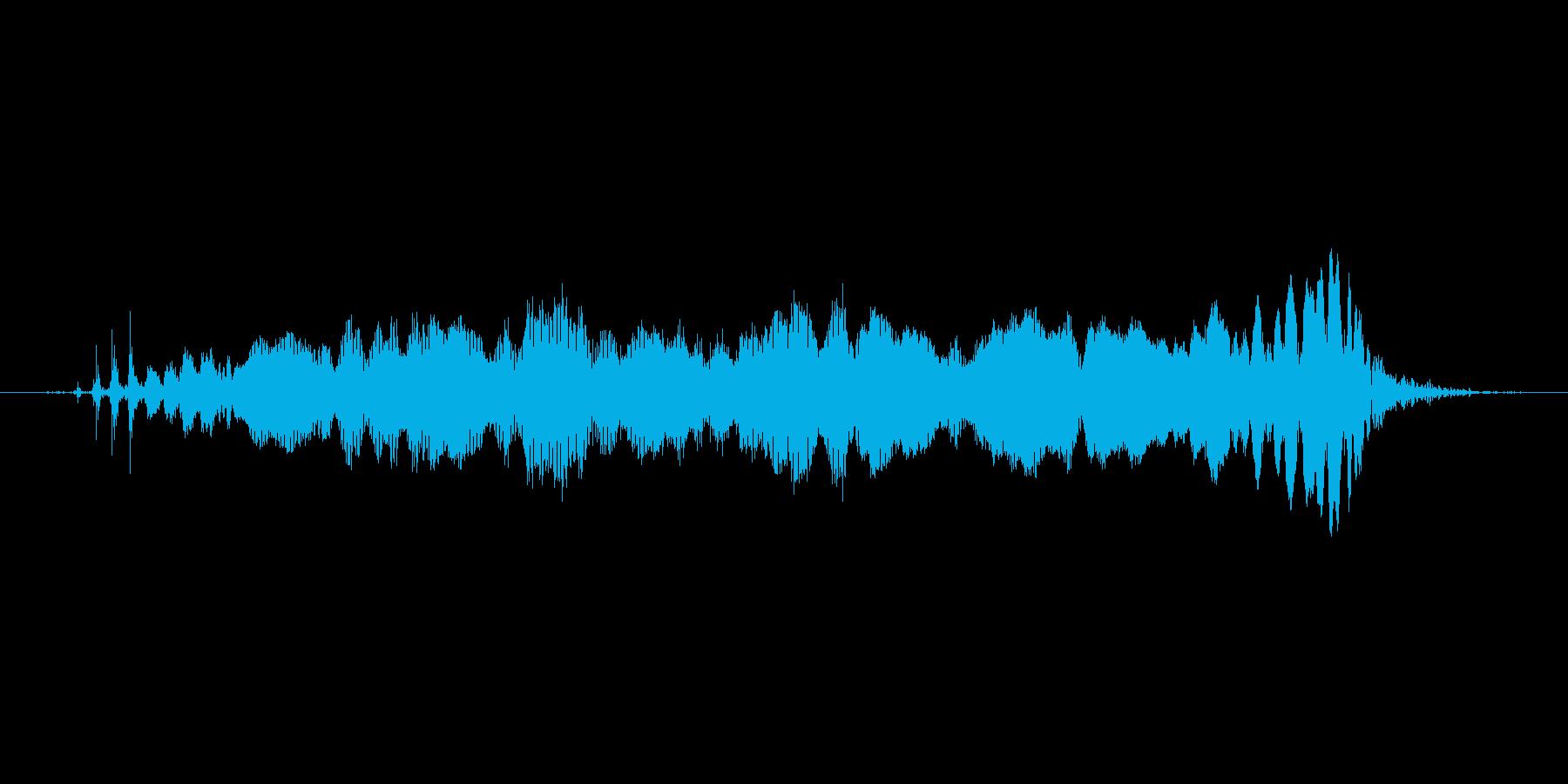 ぷーーーーーーーうの再生済みの波形