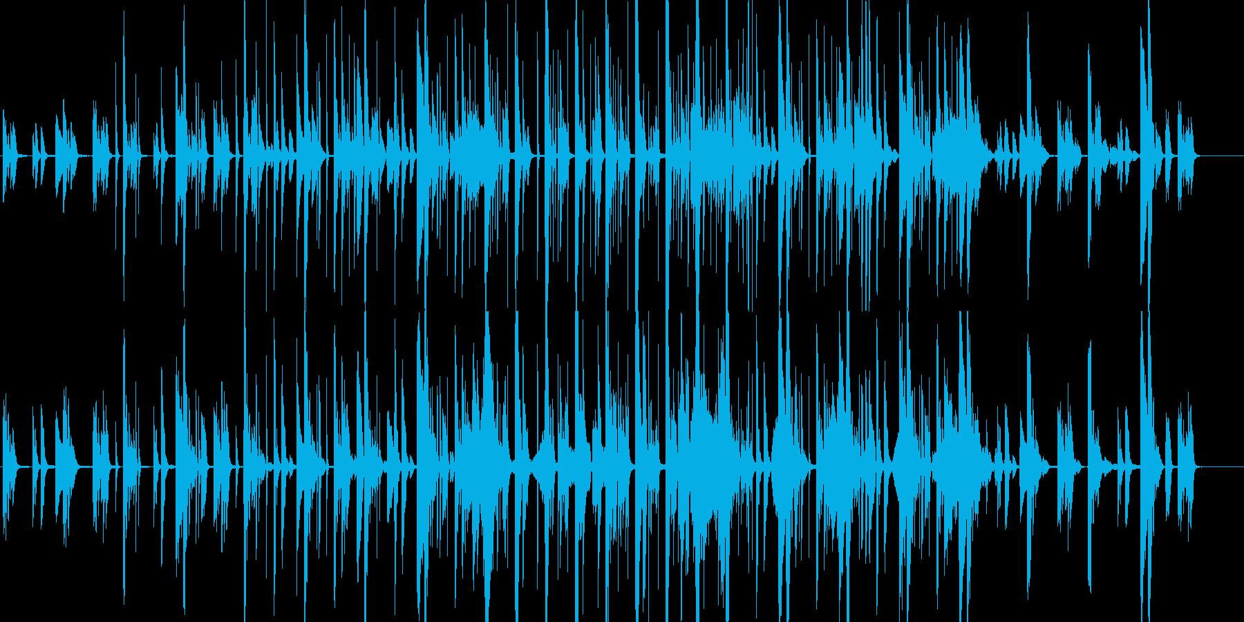 ピアノを主旋律とした透明感あるエレクトロの再生済みの波形