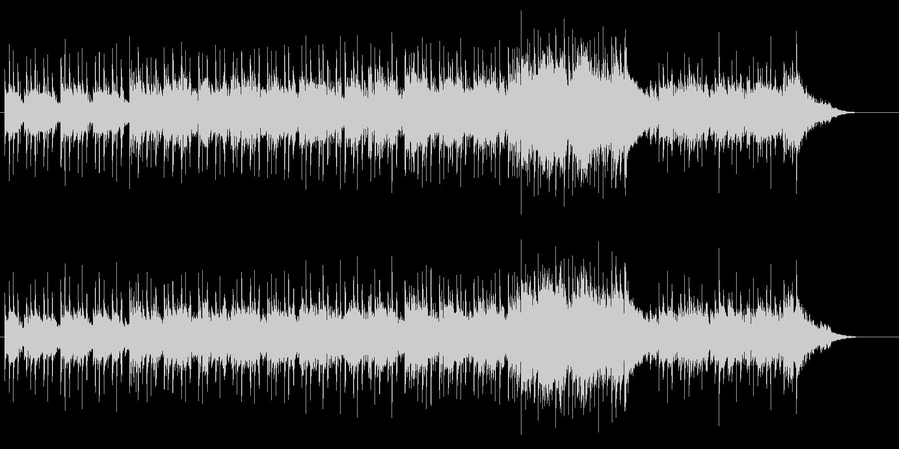 コラージュされたレゲエサウンドの未再生の波形