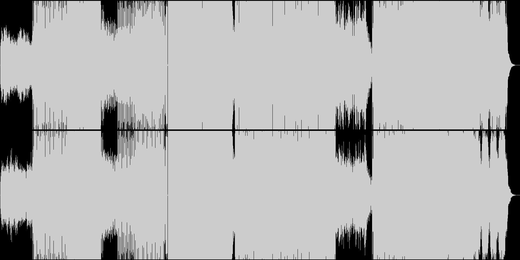 女性ボイスによるカワイイEDMシンセメロの未再生の波形