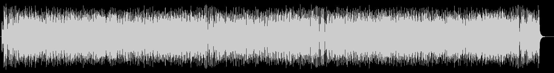 コミカルで和風の弦楽器シンセサウンドの未再生の波形