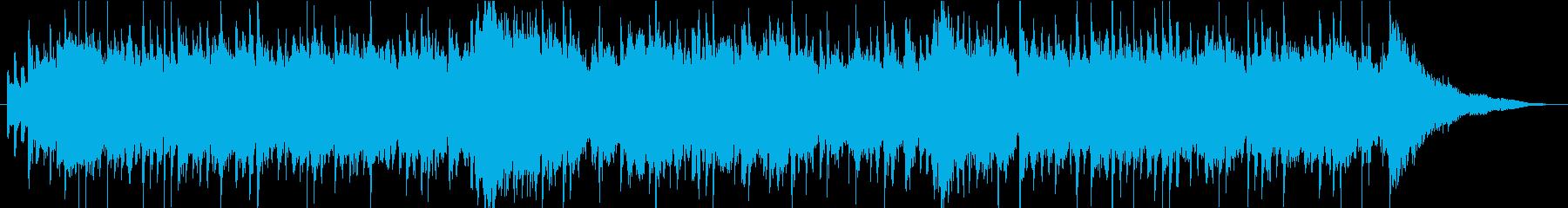 琴、尺八、太鼓、穏やかで優しい和風BGMの再生済みの波形