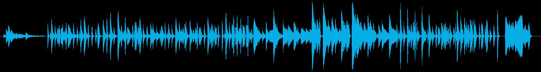 おどけた調子の古風なジャズ/ピアノ生演奏の再生済みの波形