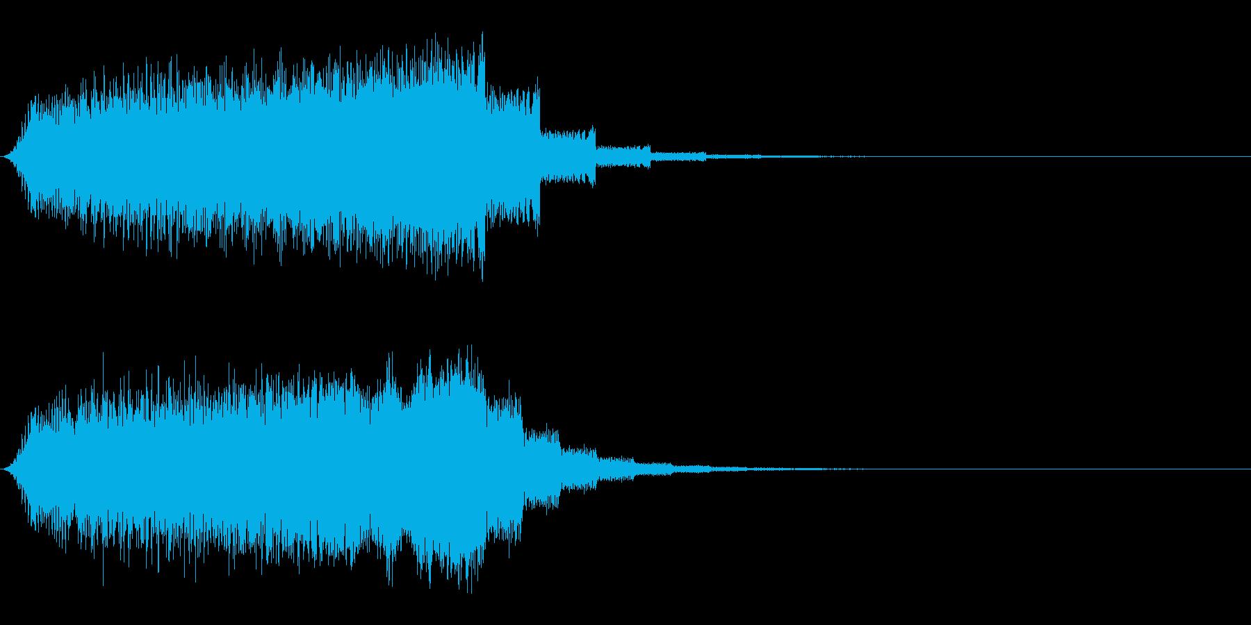 スライム のび〜る ビョーン の再生済みの波形