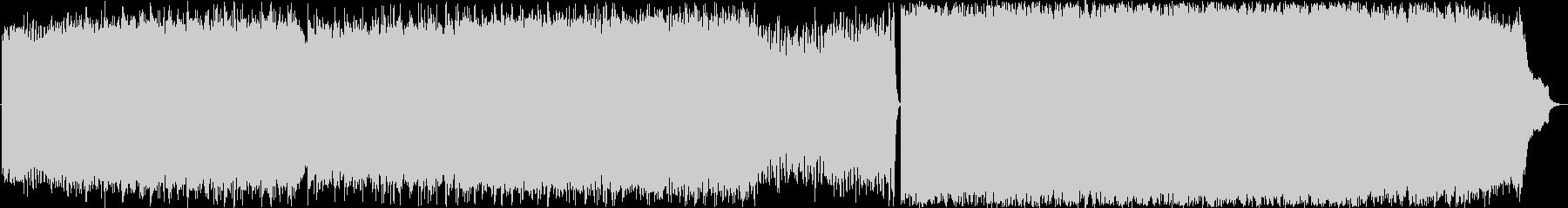 ピアノシンセストリングス 切ないバラードの未再生の波形
