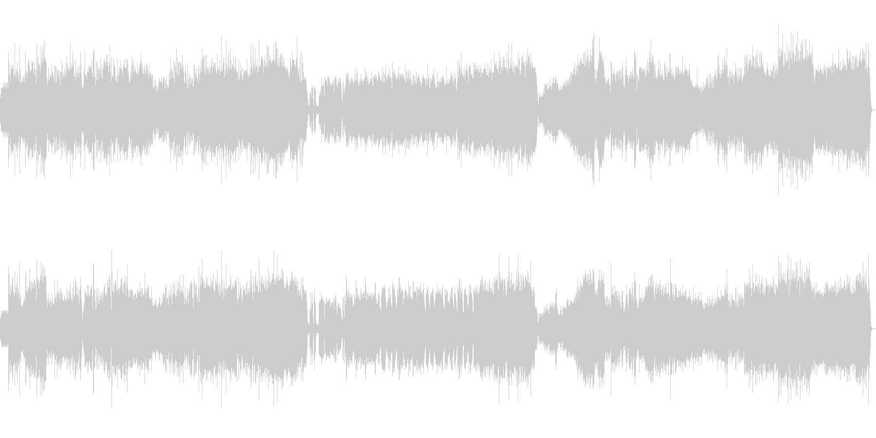 組曲「惑星」より木星(オリジナル版)の未再生の波形