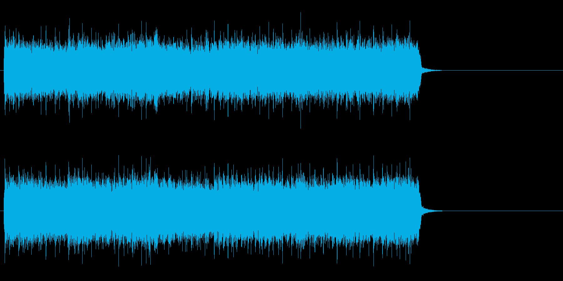 駆け抜けるハード・ロック(サビ)の再生済みの波形