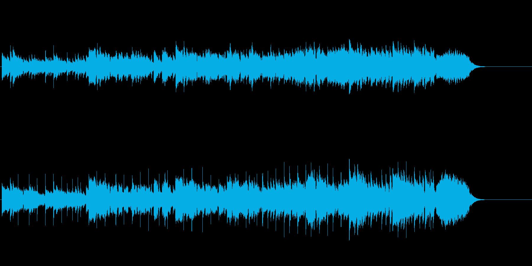 ショート・アコースティック・バラードの再生済みの波形