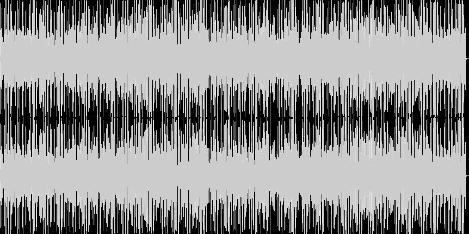 ゆったり穏やかなポップスの未再生の波形