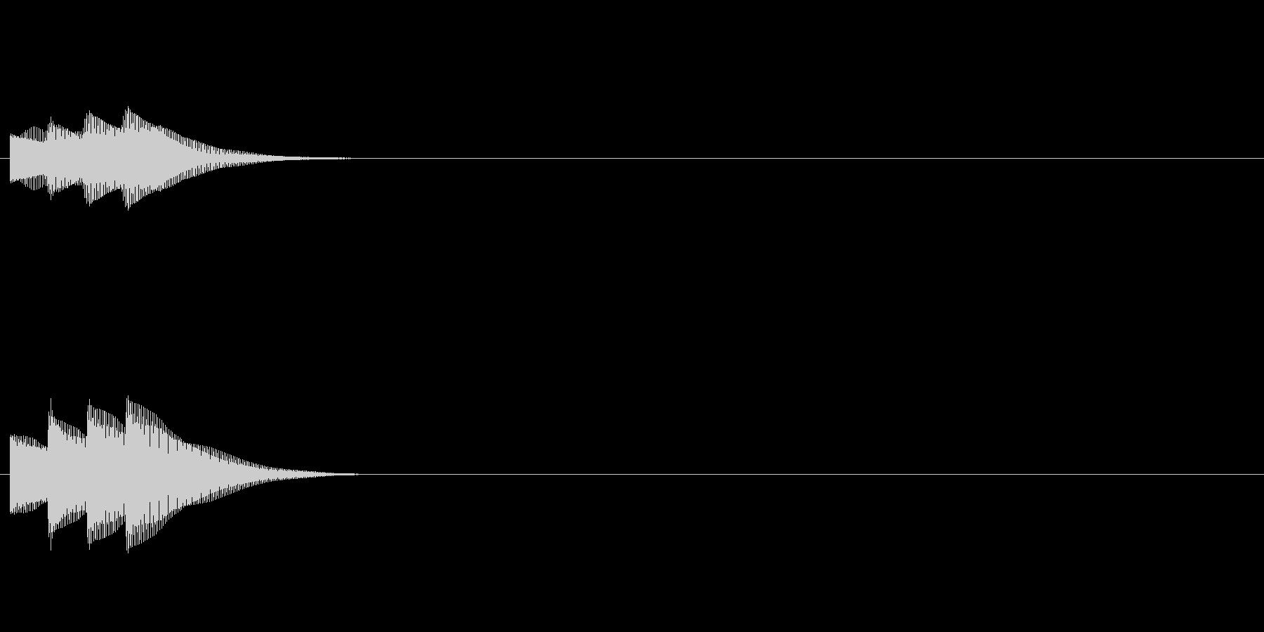 汎用 エレピ系10(連) セリフ音の未再生の波形