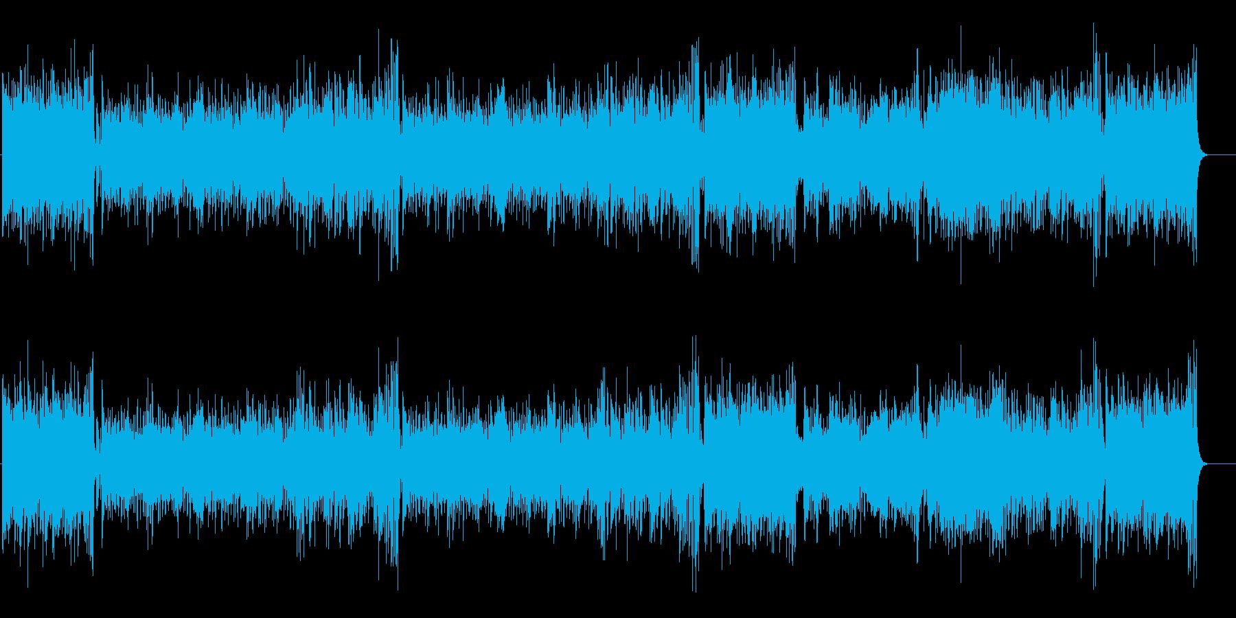 ニュアンス豊か パワフル・ロックの再生済みの波形