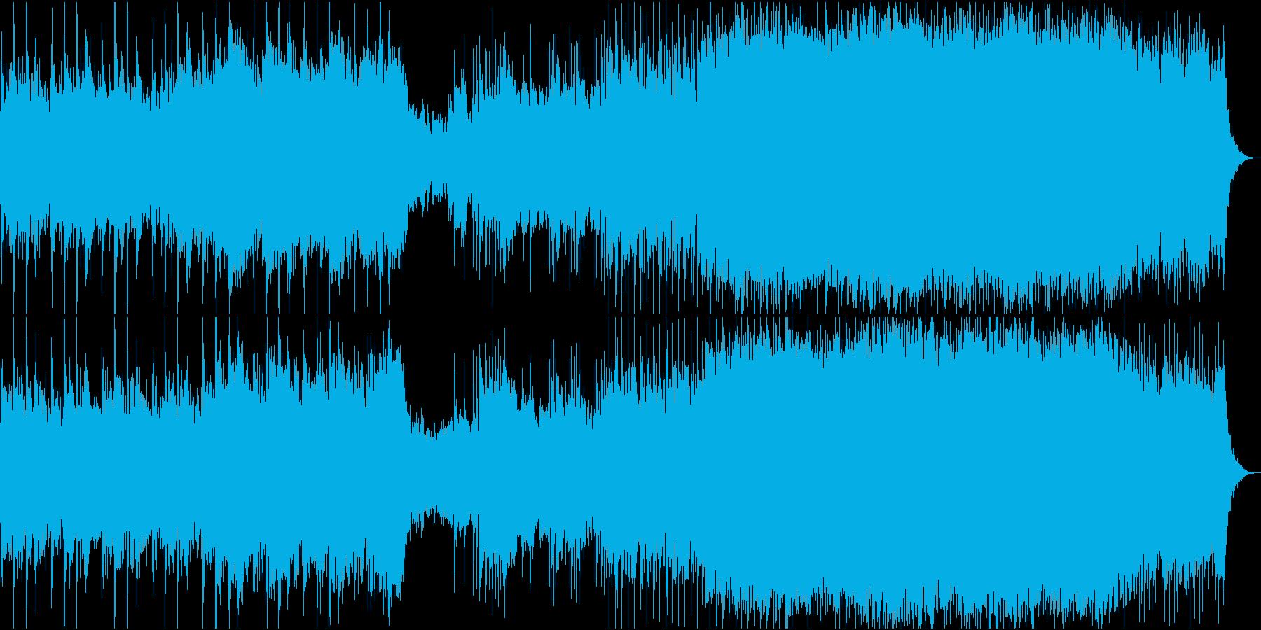ロックオーケストラ 戦い 高音質verの再生済みの波形