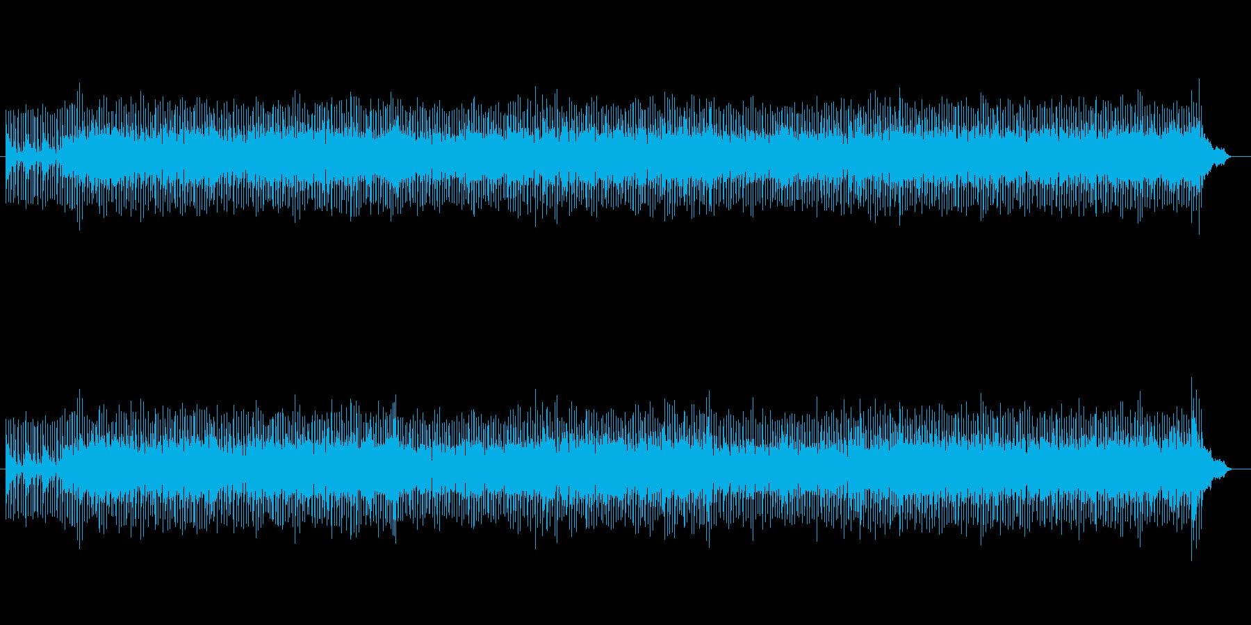 軽快で明るいポップス(モータウンビート)の再生済みの波形