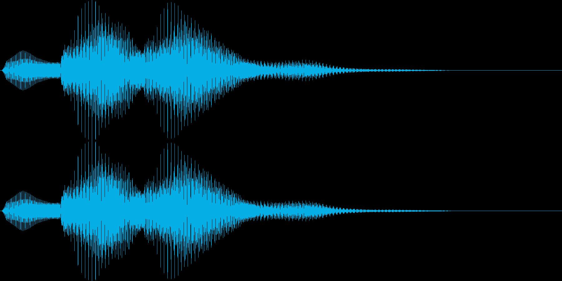 選択音 - 2 汎用の再生済みの波形