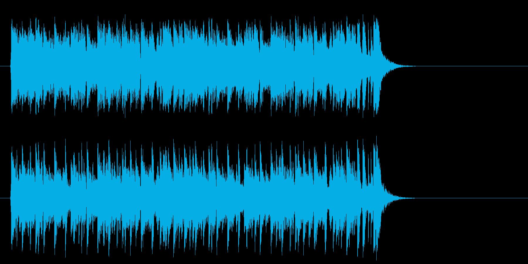 リゾート気分のポップ(サビ)の再生済みの波形
