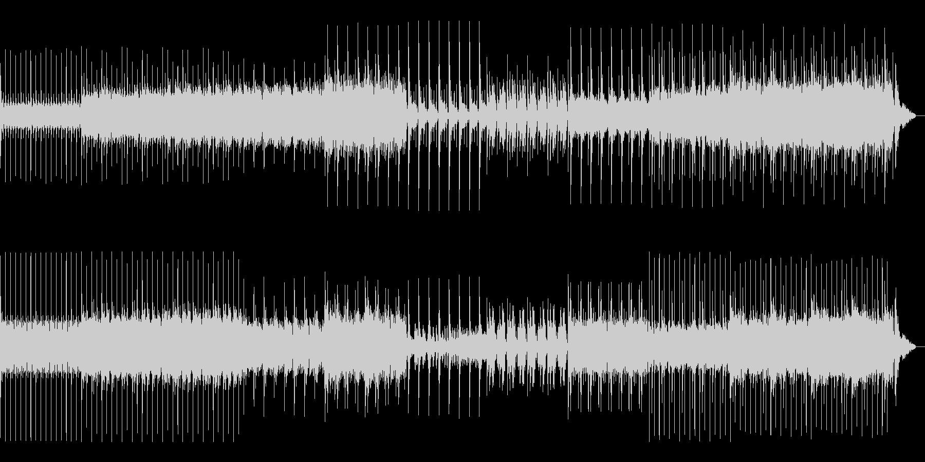 サイバーパンクテクノ・機械音・ミディアムの未再生の波形