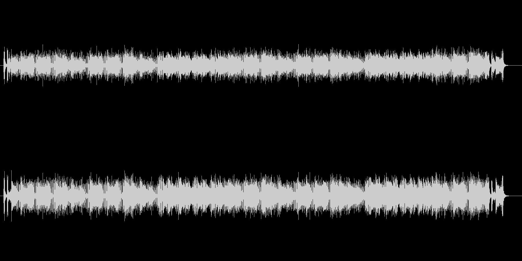 マイナー調フュージョン(ドラマ主題歌風)の未再生の波形