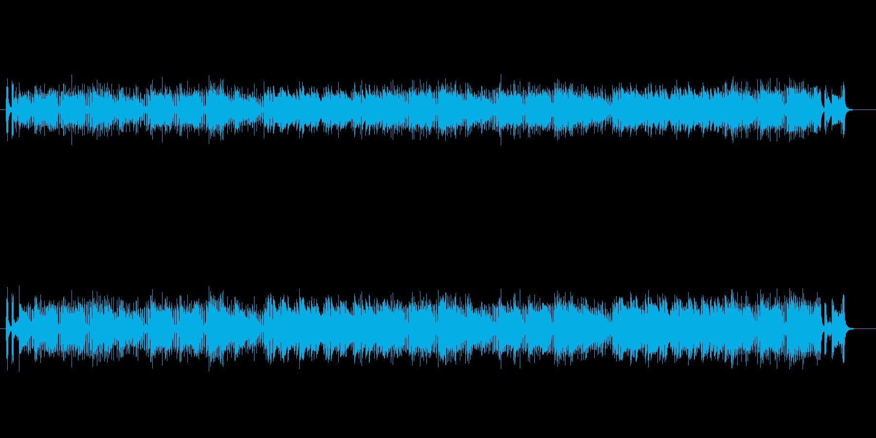 マイナー調フュージョン(ドラマ主題歌風)の再生済みの波形