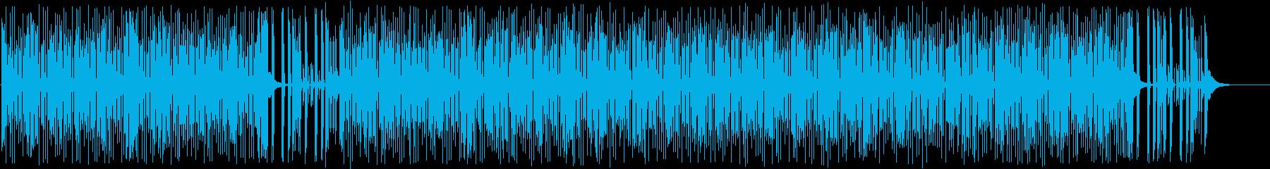 疾走感と躍動的なシンセサイザーポップの再生済みの波形