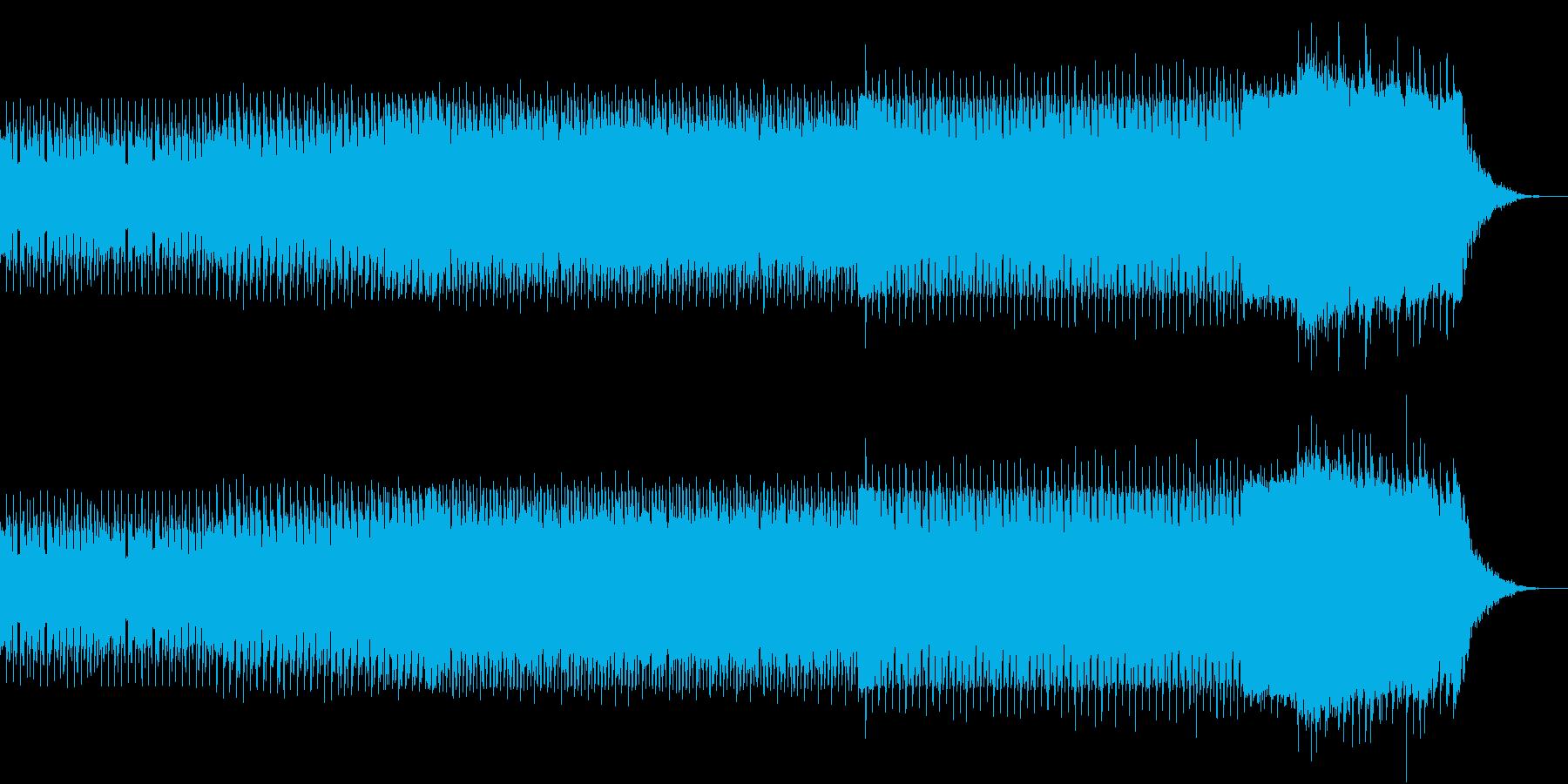 ニュース 報道 事件 EDM 迷走 迷路の再生済みの波形