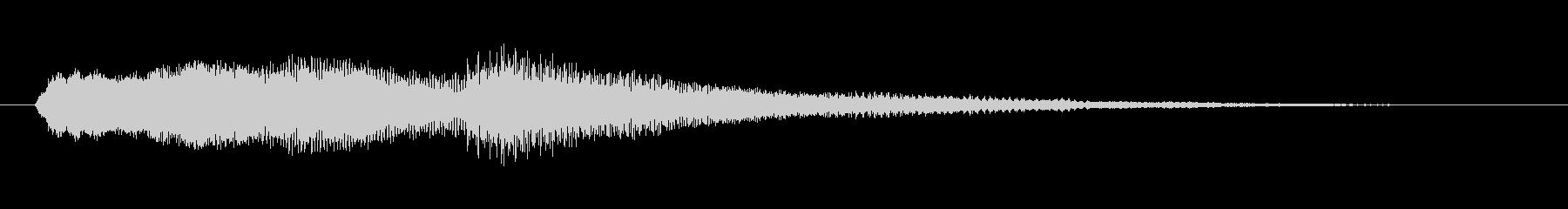 ミステリー&ホラー・発見・導入音2の未再生の波形