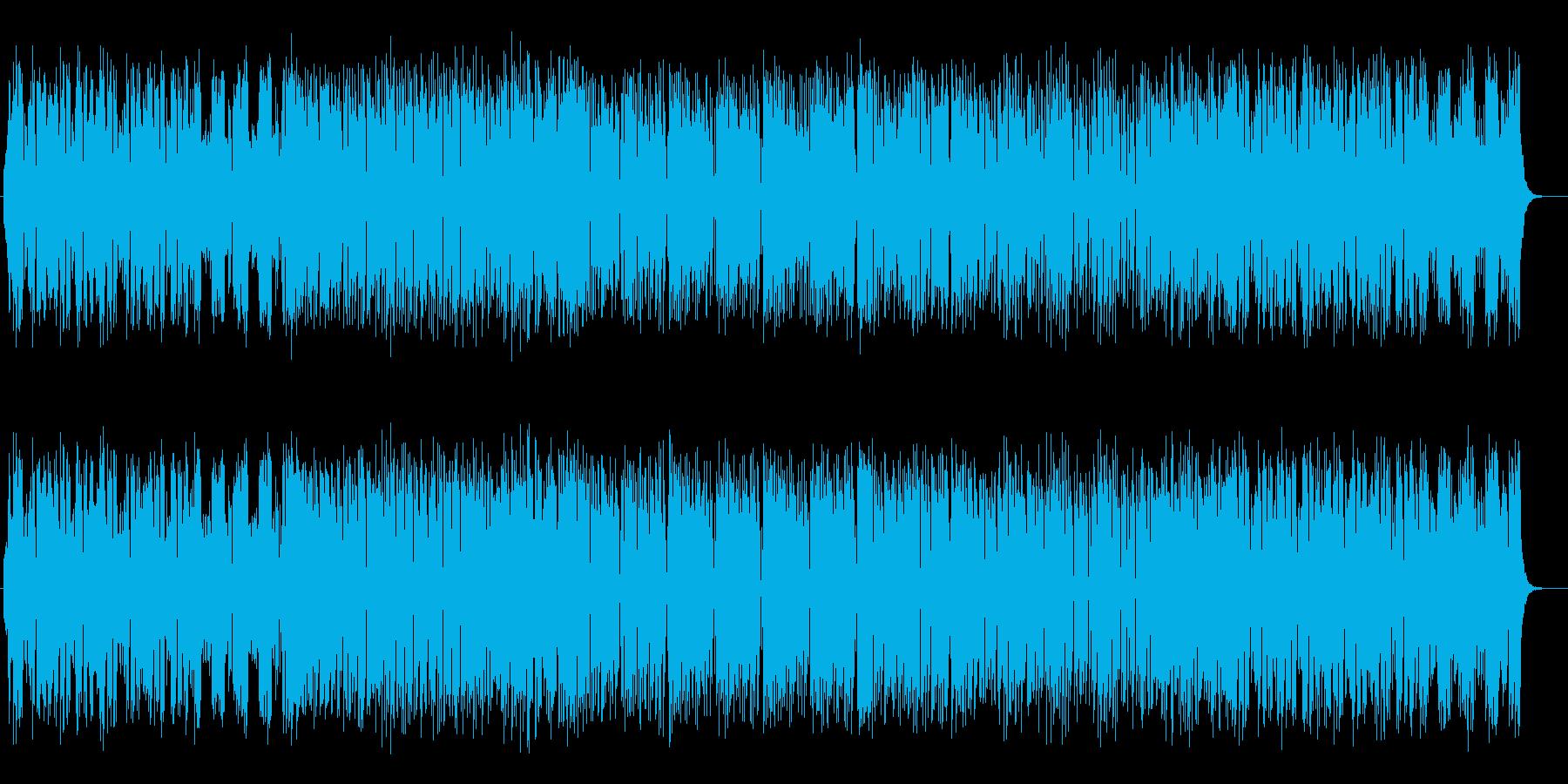 元気なメロディが明るいポップスの再生済みの波形