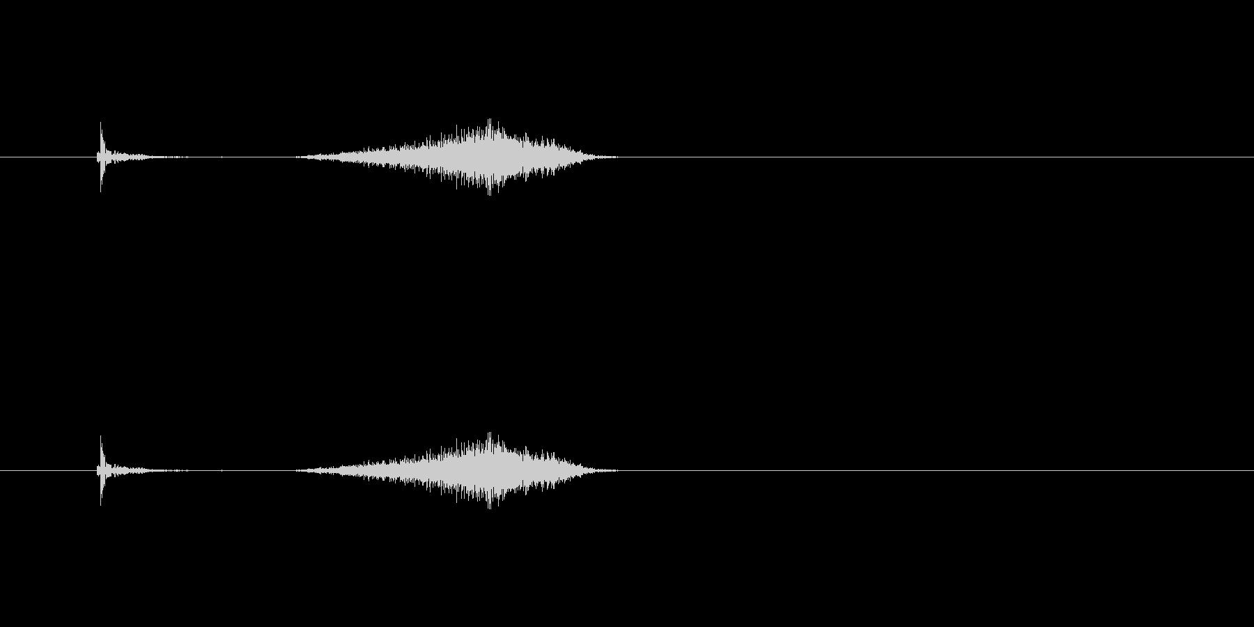 【カッター01-4(切る 紙)】の未再生の波形