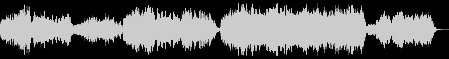 切ないメロディのファンタジーなBGMの未再生の波形