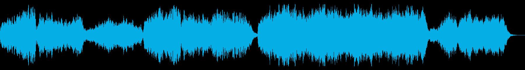 切ないメロディのファンタジーなBGMの再生済みの波形