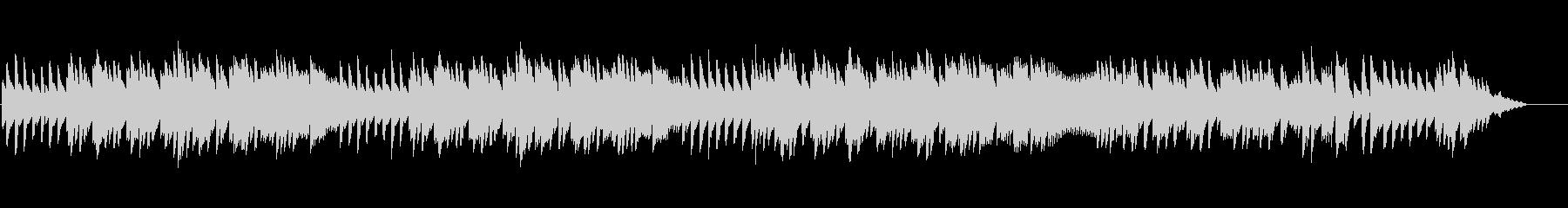 8bitクラシック アラビア風奇想曲の未再生の波形