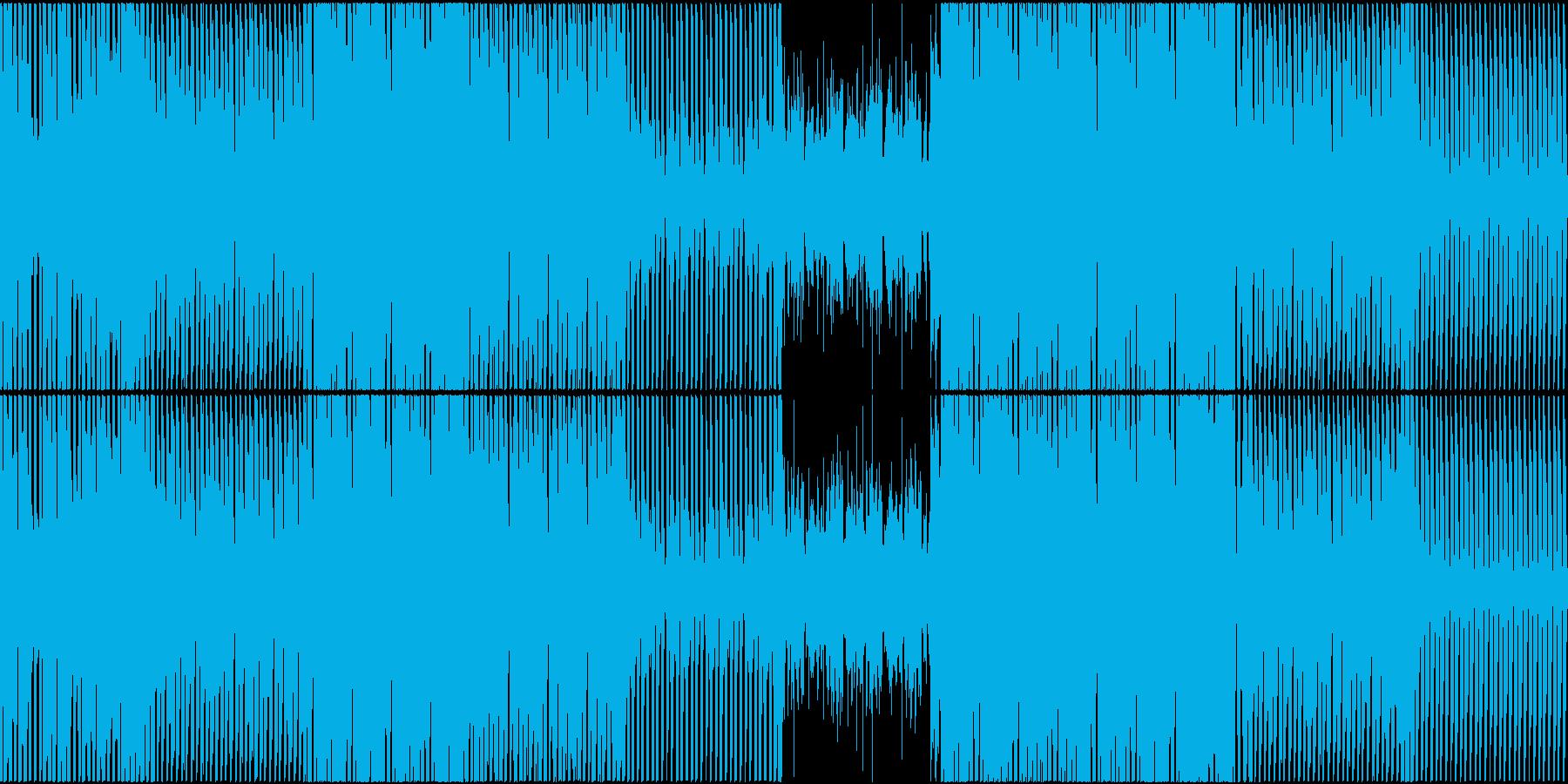 EDM トロピカル 楽しい 海 プールの再生済みの波形