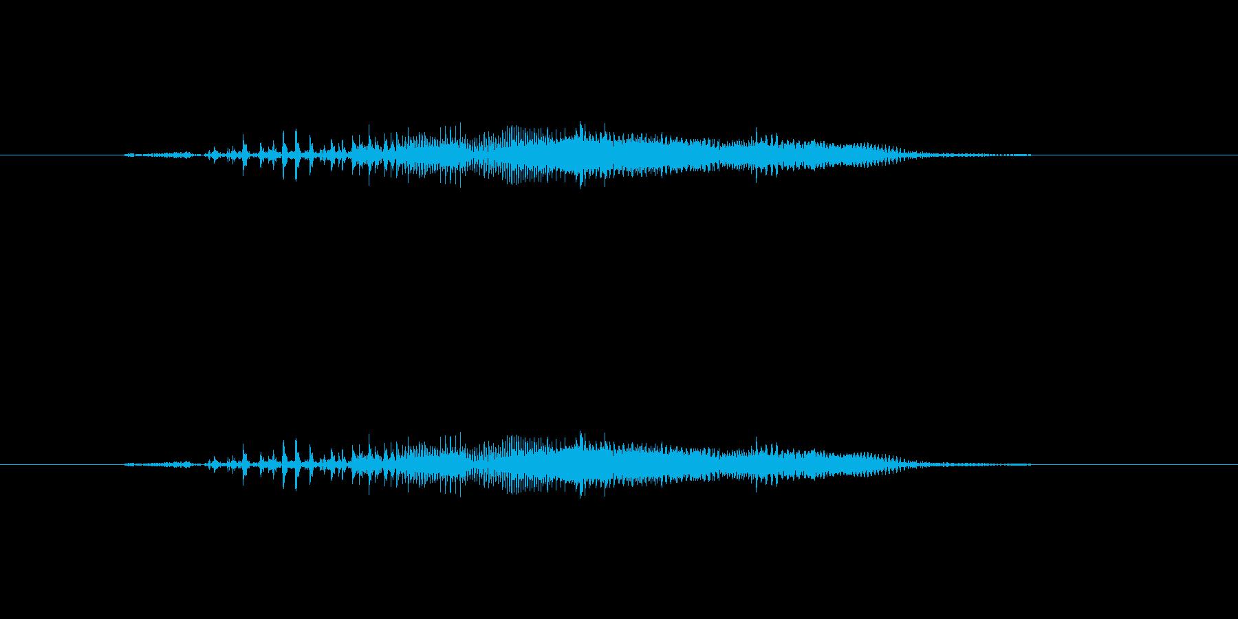 ニャー_猫声-05の再生済みの波形