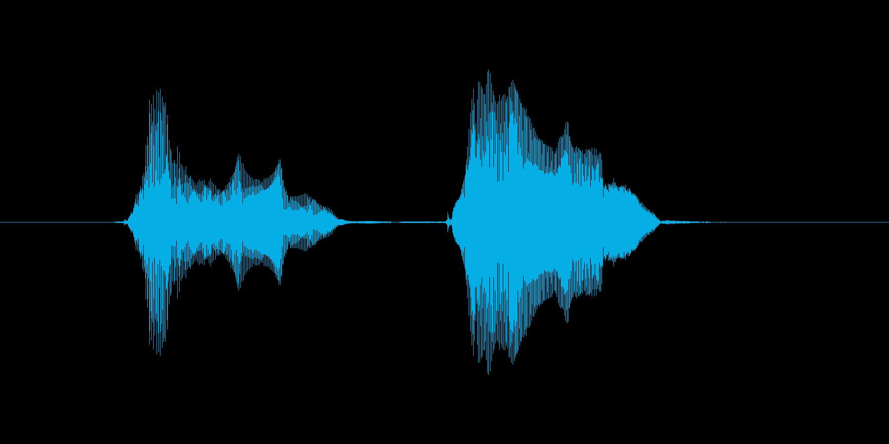 ぴょんぴょん♪の再生済みの波形