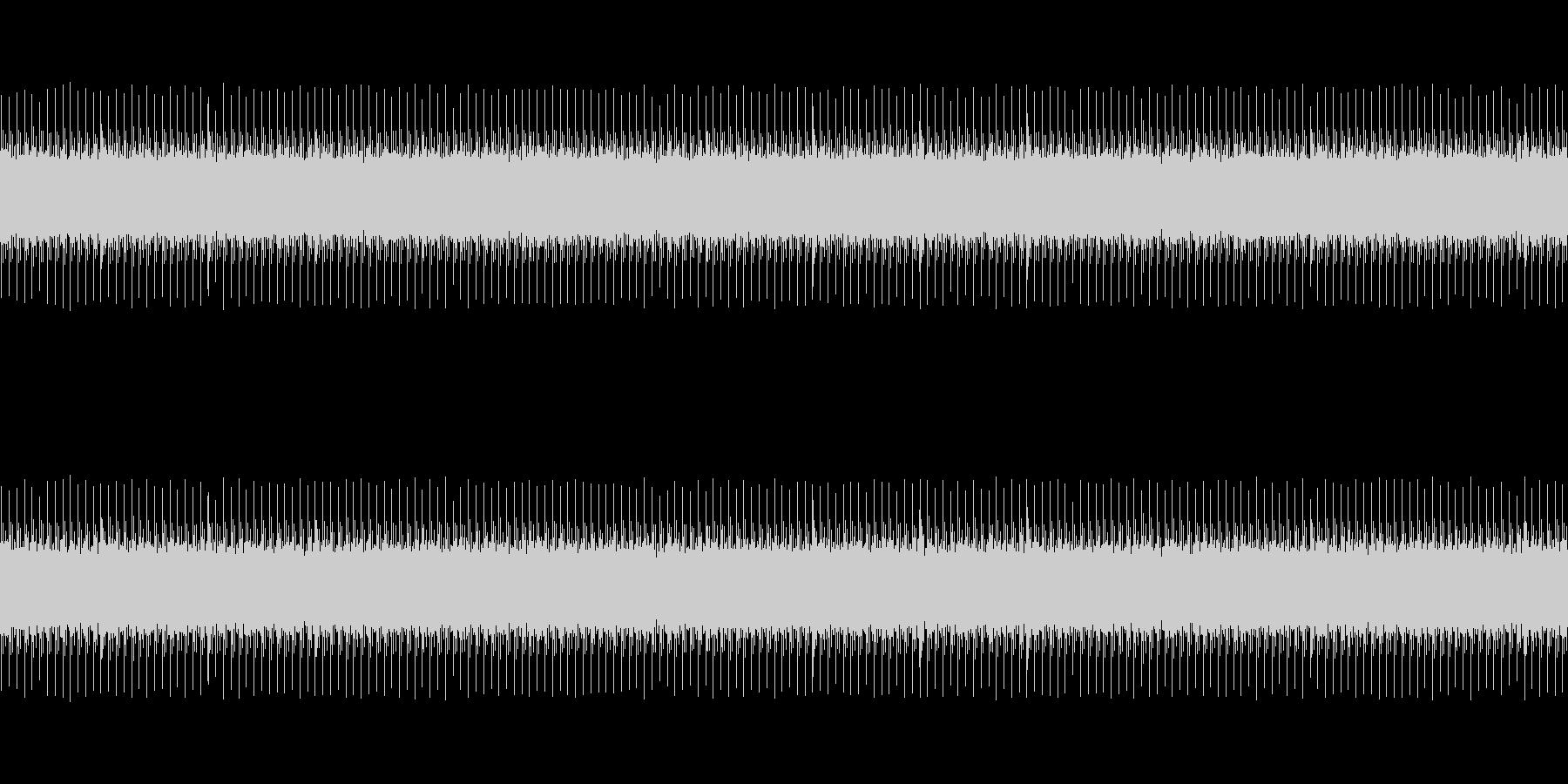 開演ブザーの未再生の波形