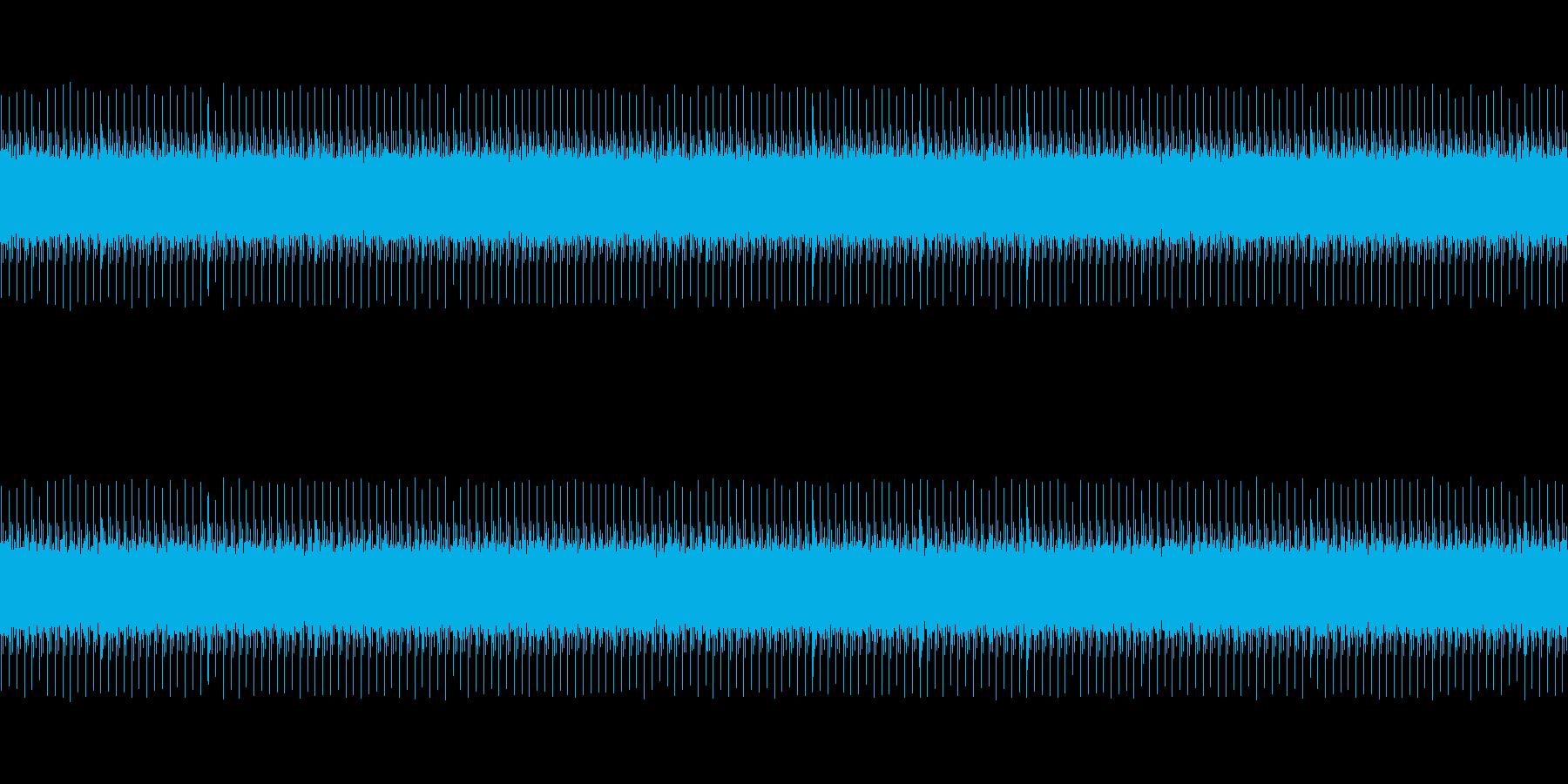 開演ブザーの再生済みの波形