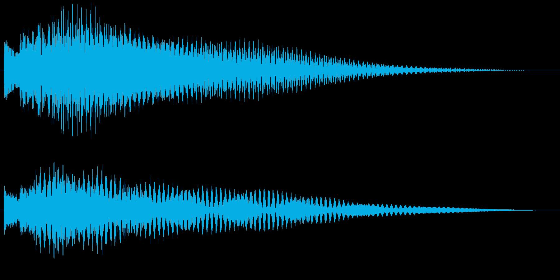 ポロリローン(ベルチャイム)の再生済みの波形