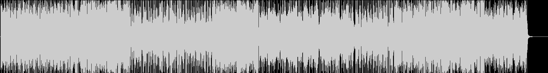 オープニングBGM ボイパでインパクト大の未再生の波形