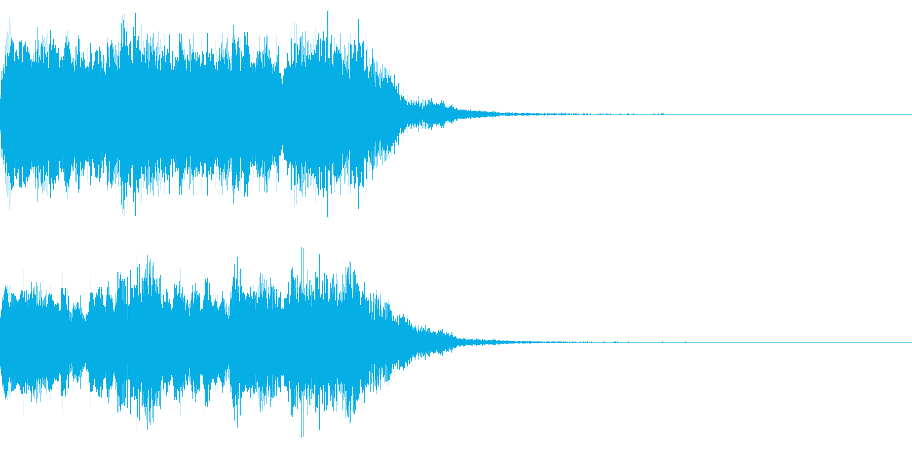 オープニング等で使える優雅なジングル2の再生済みの波形