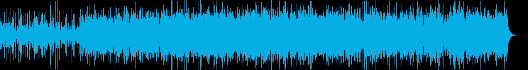 ラス前ボス前エリア終盤の行軍の再生済みの波形