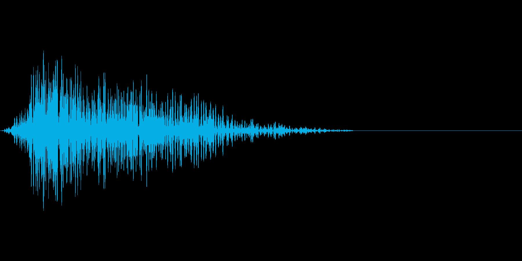 映画、CM、ゲームの効果音の再生済みの波形