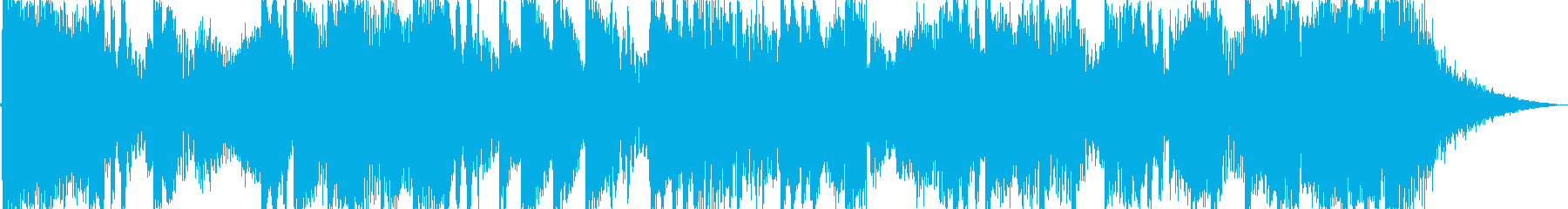 15秒のダブステップ・ストリングスの再生済みの波形