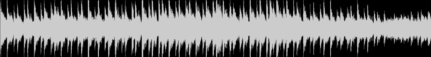 無機質でミステリアスなアンビエントの未再生の波形