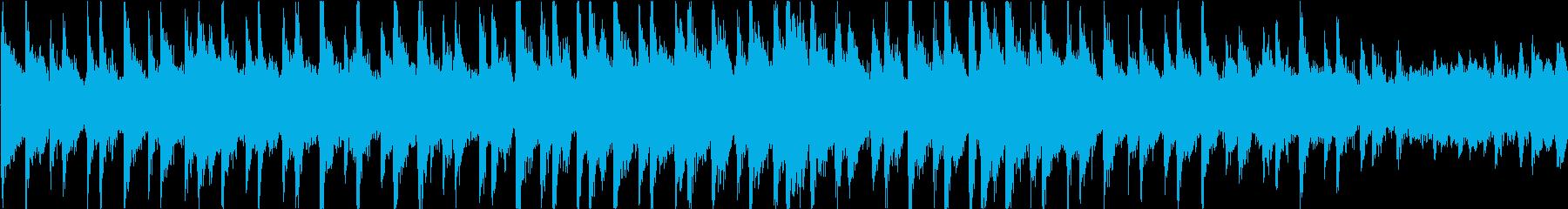 無機質でミステリアスなアンビエントの再生済みの波形