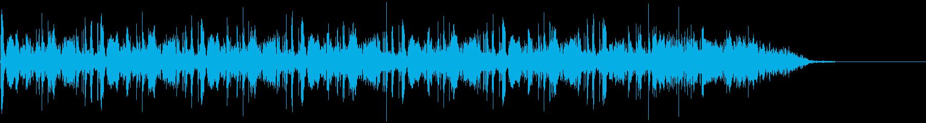 シンキングタイムなどにの再生済みの波形