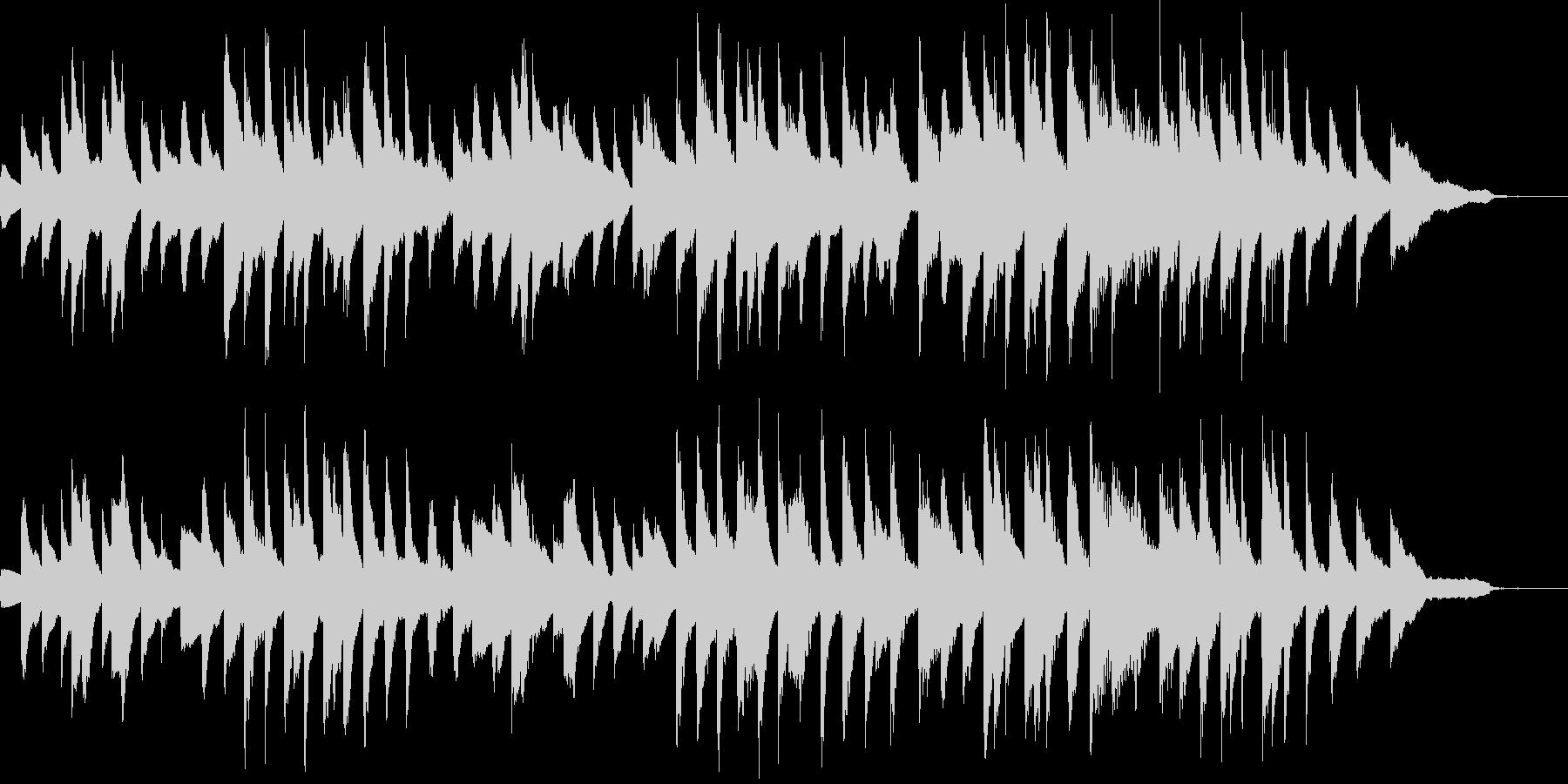 展覧会の絵:プロムナード(原曲)の未再生の波形