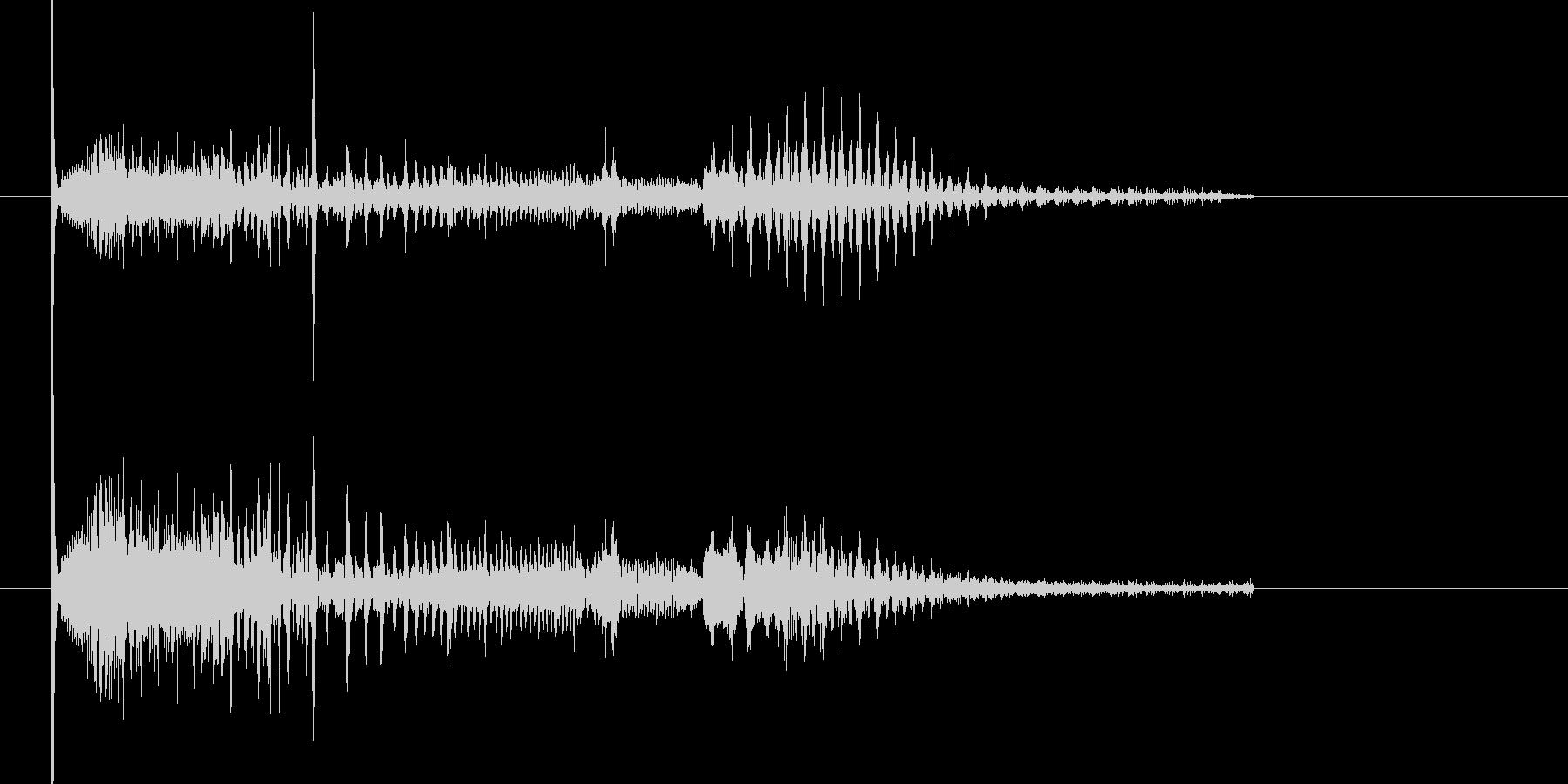 キューン キュキュキューン(シンセ音)の未再生の波形