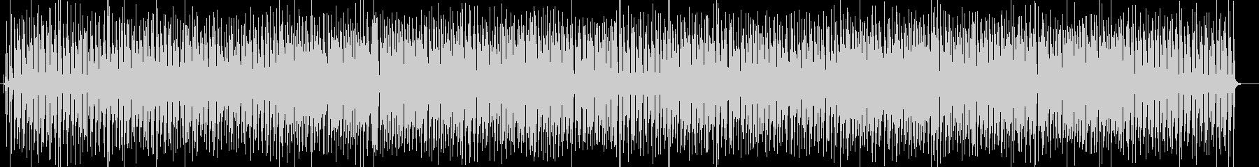 明るくポップなシンセサイザーサウンドの未再生の波形