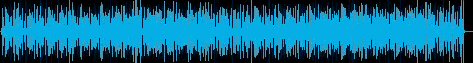 明るくポップなシンセサイザーサウンドの再生済みの波形